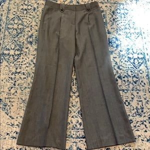 Antonio Melani gray wide leg pants size 10